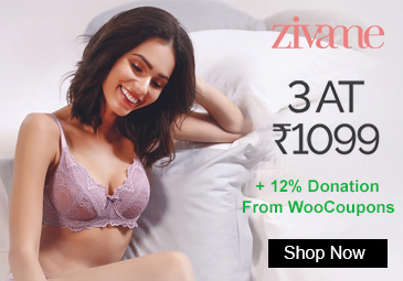 Zivame Buy Bras, Panties and Shapwear Any 3 at Rs. 1099 only