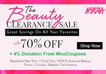 Upto 70% OFF : Nykaa Clearance Sale
