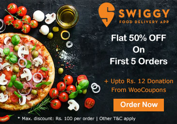 Flat 50% OFF : Swiggy (New User Coupon)