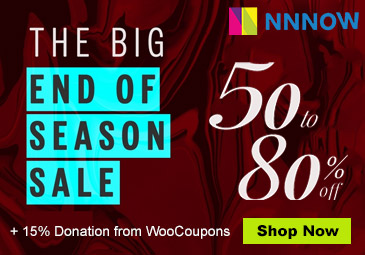 50% to 80% OFF : NNNOW EOSS