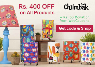 Chumbak Coupon - Flat 400 OFF Sitewide