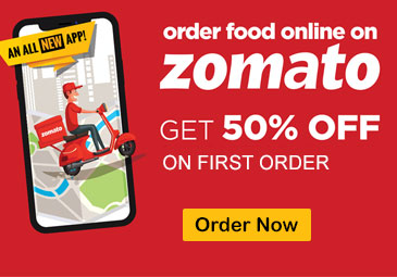 Zomato | Flat 50% OFF on First Order